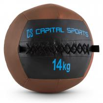 Epitomer Wall Ball 14kg Kunstleder braun