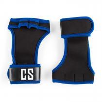 CAPITAL SPORTS Palm Pro Gants haltérophilie musculation taille L - noir/bleu