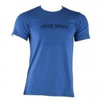 Trainings-T-Shirt für Männer Size L True Royal