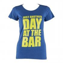 Trainings-T-Shirt für Frauen Size S True Royal
