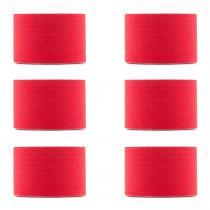 CAPITAL SPORTS Bondies Kinesiologie Tape 6 rouleaux de 5m -rouge