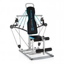 CAPITAL SPORTS Tubey Mini Homegym Station de musculation -bleu