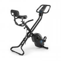 Azura X1 X-Bike bis 120 kg Pulsmesser klappbar schwarz