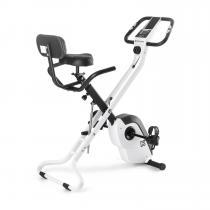 Azura X1 X-Bike bis 120 kg Pulsmesser klappbar weiß