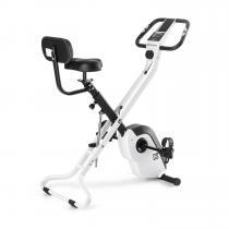 Azura X2 X-Bike bis 120 kg Pulsmesser klappbar weiß