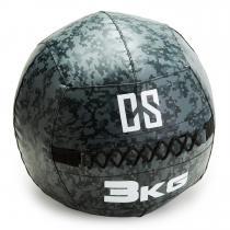 Restricamo Wall Ball Medizinball PVC 3kg Camouflage