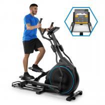 CAPITAL SPORTS Helix Star DR Vélo elliptique cardio 12 programmes Bluetooth