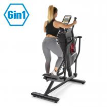 Helix Stride 6-in-1-Crosstrainer LC-Display 32 Stufen schwarz