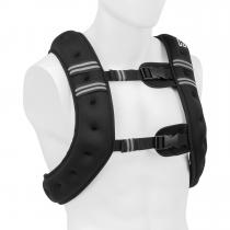 X-Vest Gewichtsweste | Gewicht: 10 kg | Material: Neopren/Nylon | Füllmaterial: Stahlkugeln | für Bodyweight- und Funktionstraining | 2 Brustgurte | schwarz