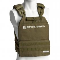 Battlevest 2.0 veste lestée 2x2 poids 5.75 & 8.75lb vert olive