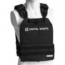 Battlevest 2.0 veste lestée 8 kg (17,5 lbs) noire