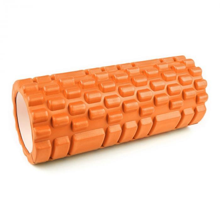 Yoyogi Massageroller Orange Hartgummi