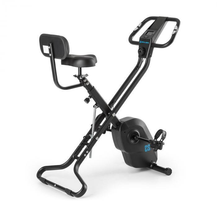 Azura X2 X-Bike hasta 120 kg monitor de pulsaciones plegable 4 kg