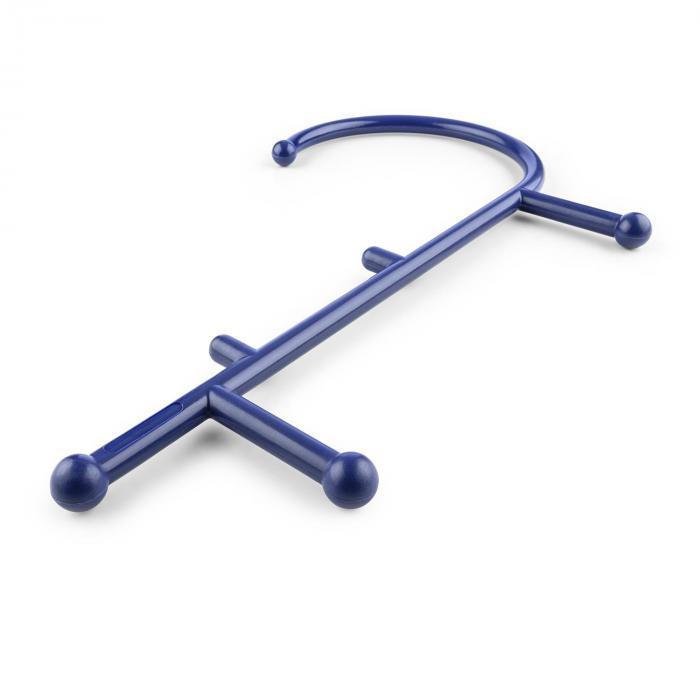 Mr Trigger Massagehaken Triggerpunkt 6 Massagenoppen Nylon blau